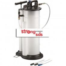 Aspirator cu actionare manuala sau pneumatica pentru ulei si alte lichide