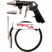 Pistol pentru sablat cu aspirator direct din recipient